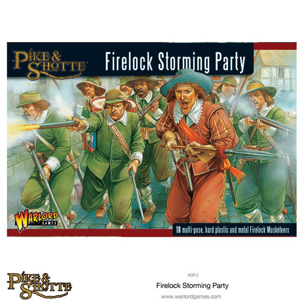 Firelock Storming Party plastic boxed set