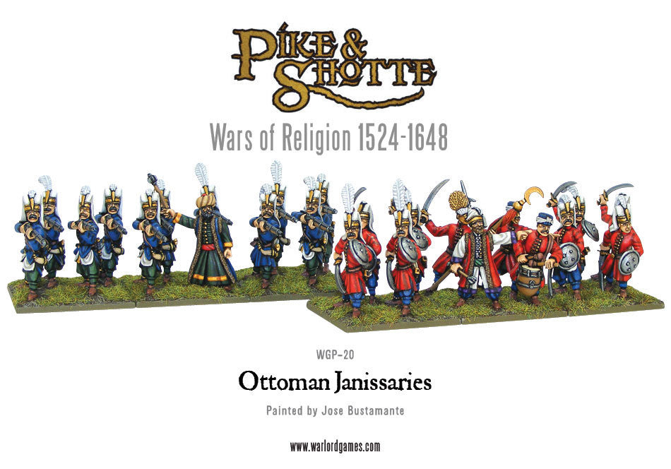 Ottoman Janissaries - Warlord Games