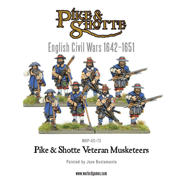 Pike & Shotte veteran musketeers