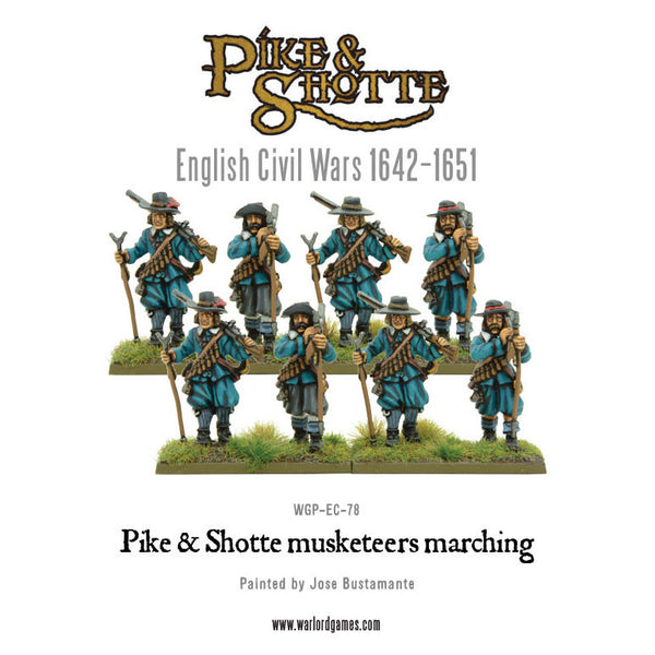 Pike & Shotte Musketeers Marching
