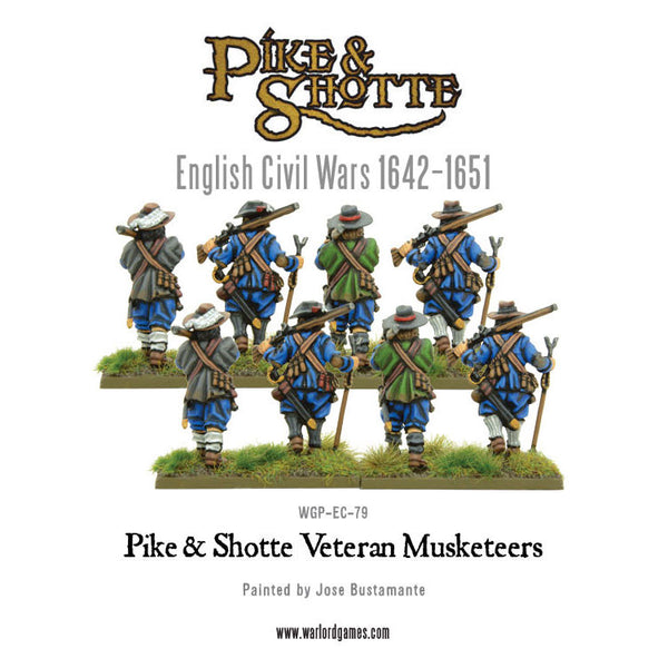 Pike & Shotte Veteran Musketeers Marching