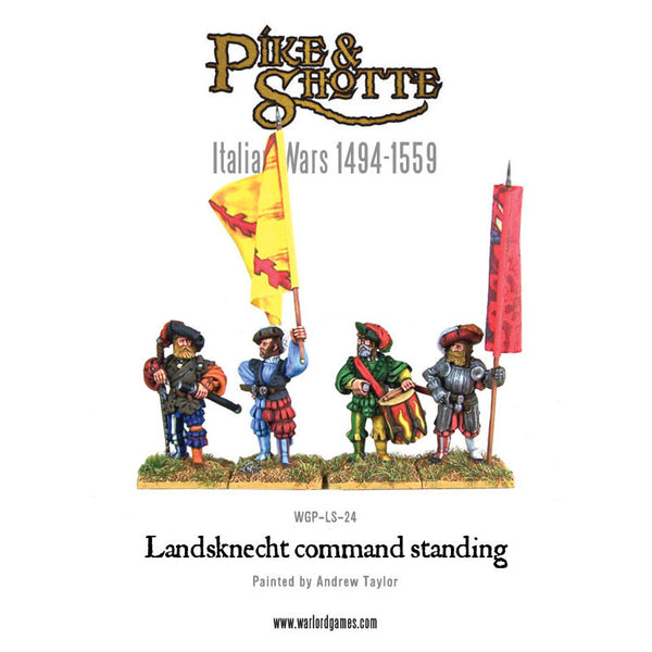 Standing Landsknecht regiment deal