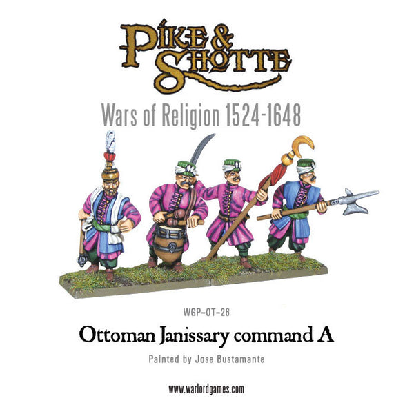 Ottoman Janissary Command A