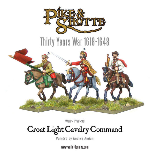 Croat cavalry command