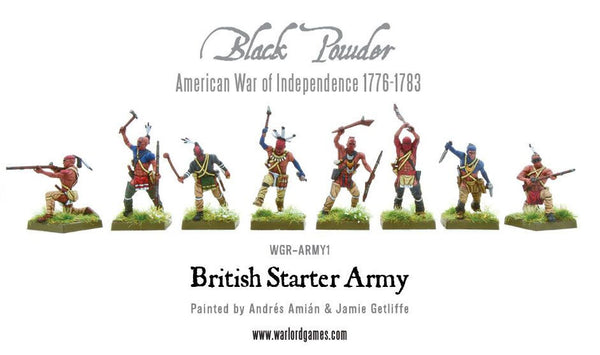 American War of Independence British Army starter set