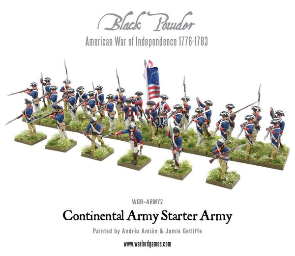 American War of Independence Continental Army starter set ...