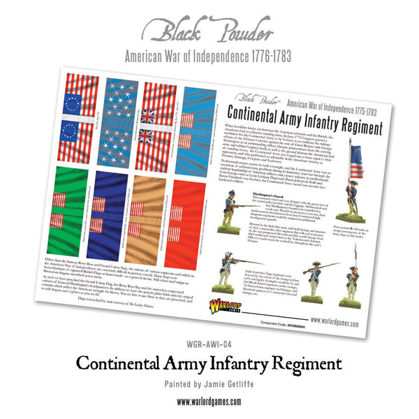 Continental Infantry Brigade Special Offer