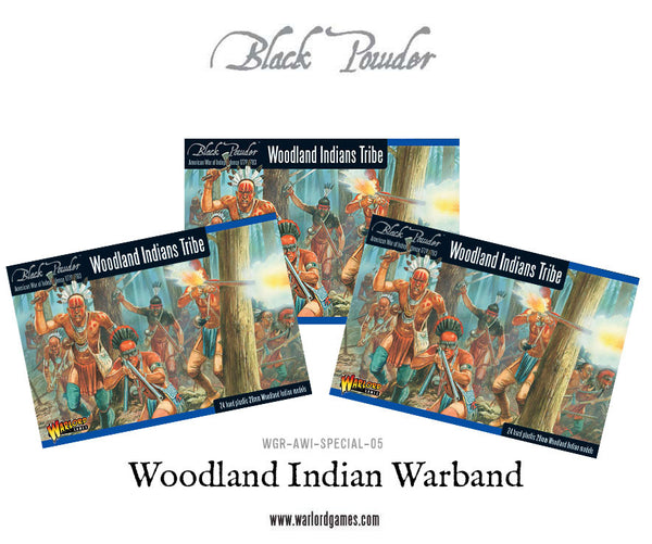 Woodland Indian Warband Special Offer