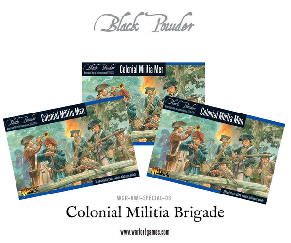 Colonial Militia Brigade Special Offer