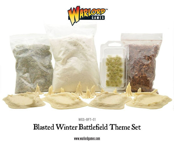 Blasted Winter Battlefield Theme Set