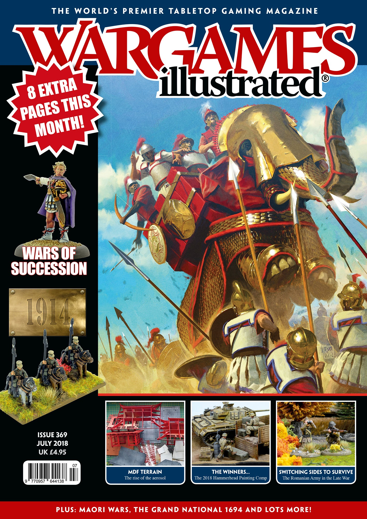 Wargames Illustrated Issue 369 July Edition 2018 ...