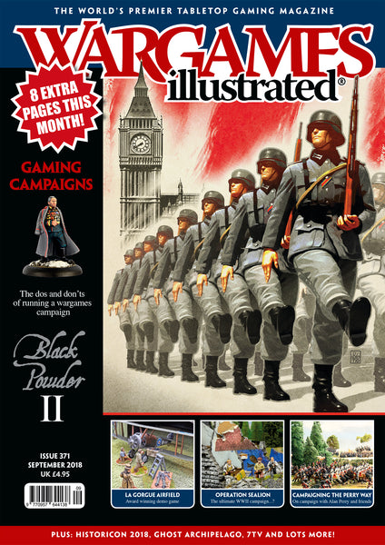 Wargames Illustrated Issue 371 September Edition 2018