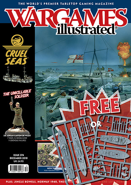 Wargames Illustrated Issue 374 December Edition 2018