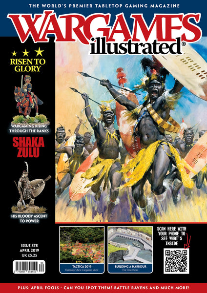 Wargames Illustrated Issue 378 April Edition 2019