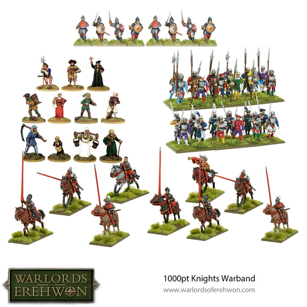 Warlords of Erehwon 1000pt Knight Starter Army