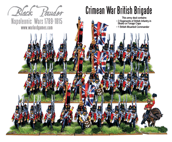 Crimean War: British Brigade army deal