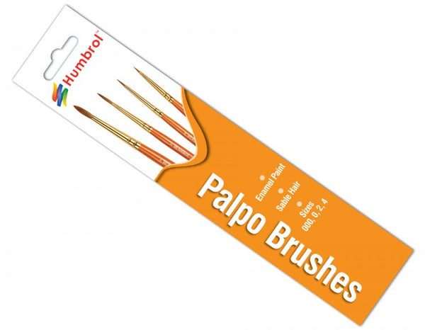 Palpo Brush Pack 000, 0, 2, 4