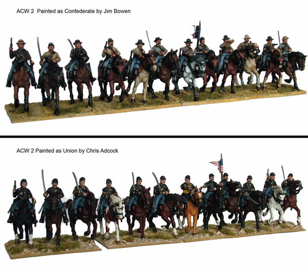 American Civil War: Cavalry (1861-1865) plastic boxed set