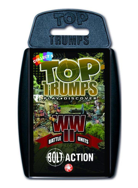 Bolt Action Top Trumps