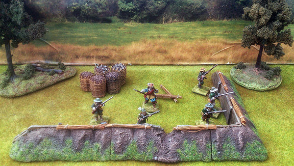 Resin Breastwork Set 1