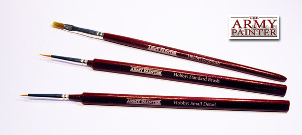 Brush Set - Standard, Small Detail, Drybrush