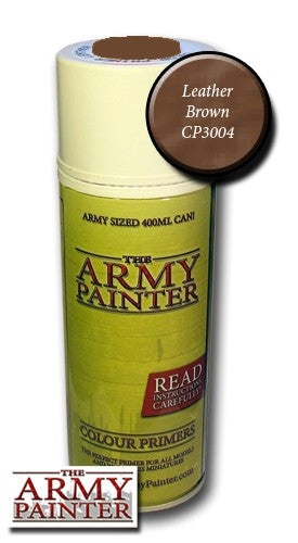 Leather Brown colour primer spray