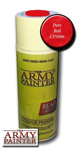 Pure Red colour primer spray