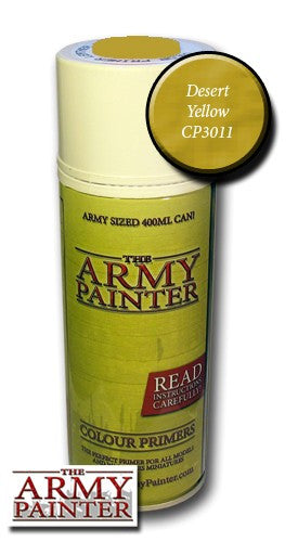 Desert Yellow colour primer spray