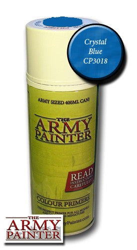 Crystal Blue colour primer spray