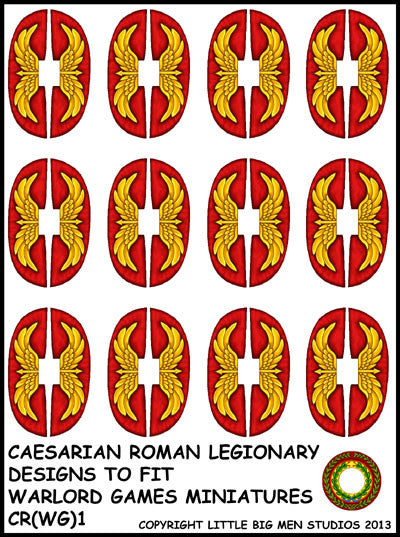 Caesarian Roman shield design 1
