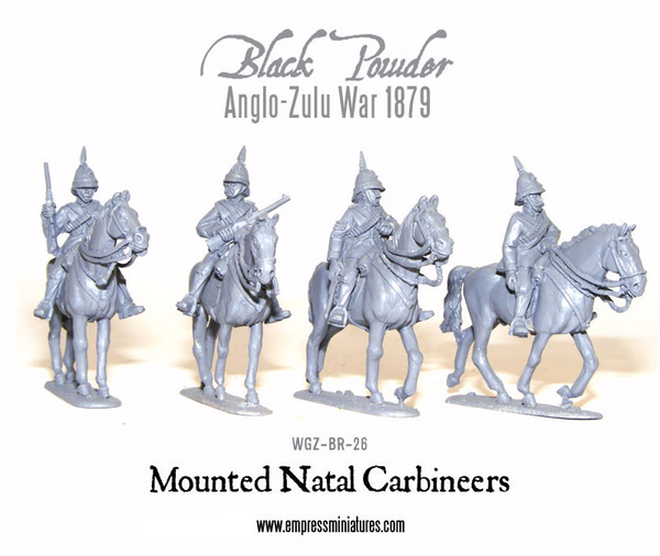 Anglo-Zulu War: Mounted Natal Carbineers 1879