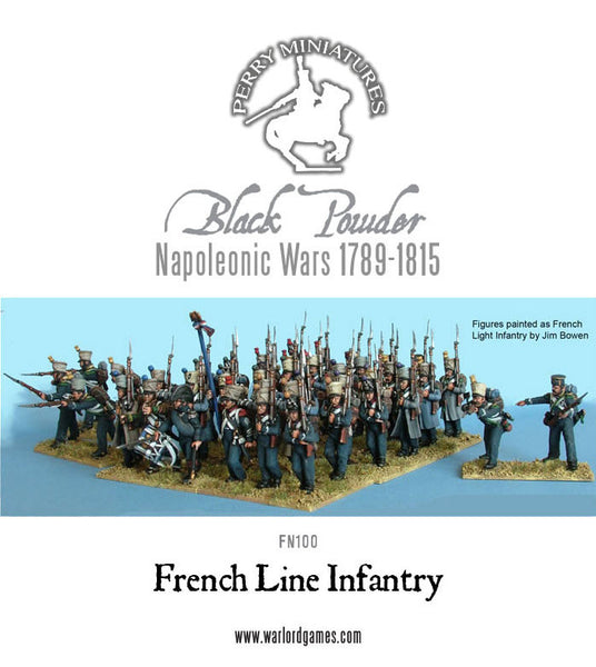 Napoleonic Wars: French Line Infantry plastic (1812-1815) plastic boxed set