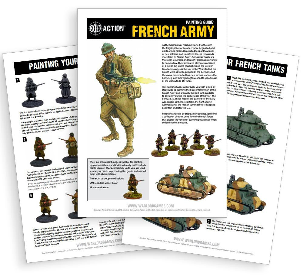 Painting Guides - Warlord Games
