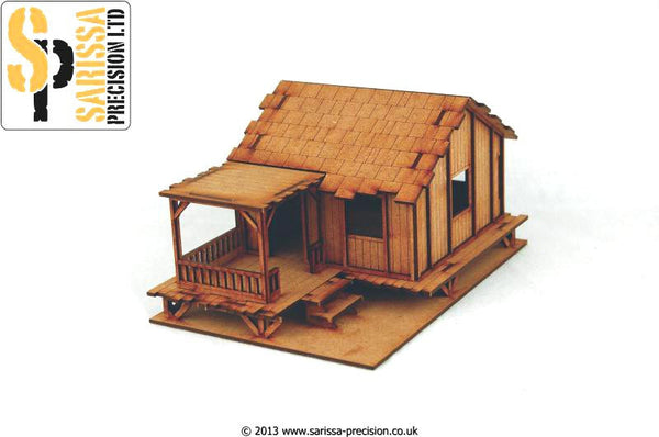 Planked Style Village House - Low