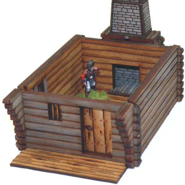 Pioneer's Log Timber Cabin 1