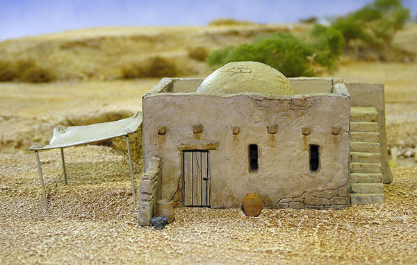 Mud Brick House & Accessory sprue 1