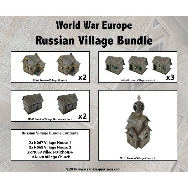 Russian Village Bundle