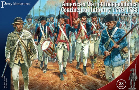 American War of Independence 1776-1783 - Warlord Games