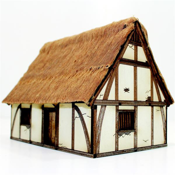 Pre Painted High Medieval Cottage Warlord Games