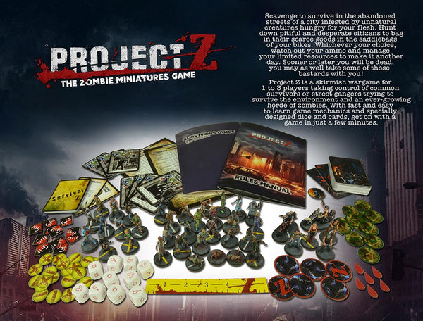 PROJECT Z - The Zombie Miniatures Game Spanish