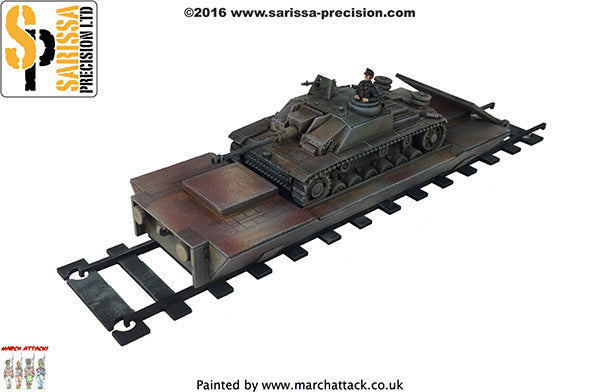 Armoured Tank Carriage