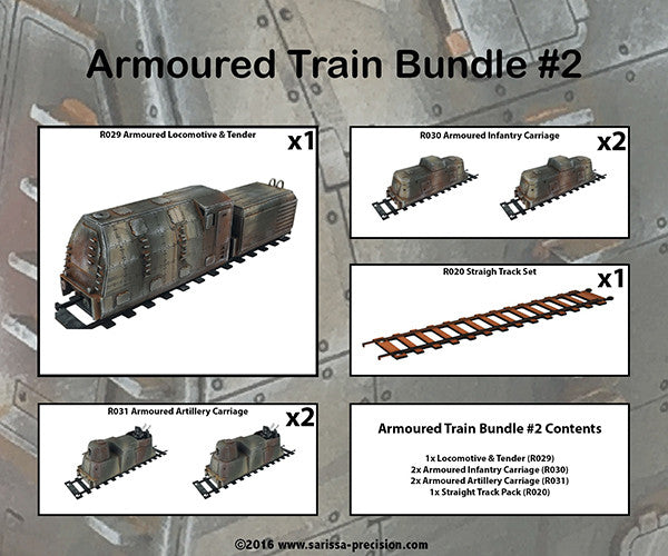 Armoured Train Bundle 2