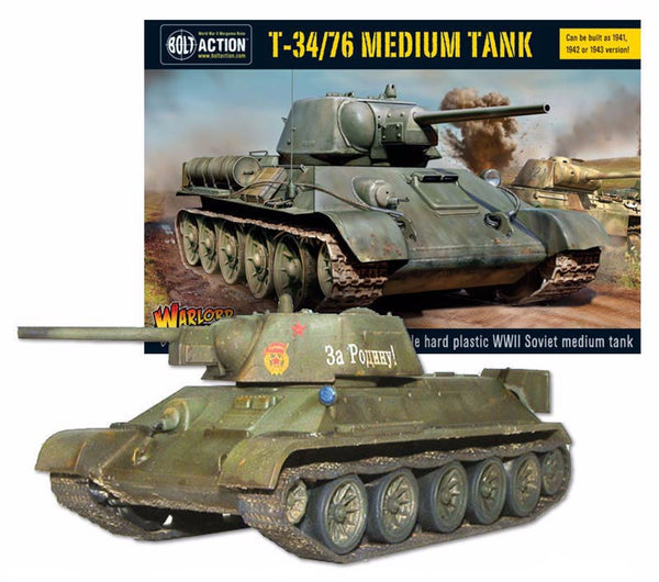 Build Your Own T34/76 Kit
