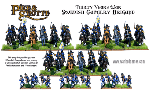 Thirty Years War Swedish Cavalry Brigade deal