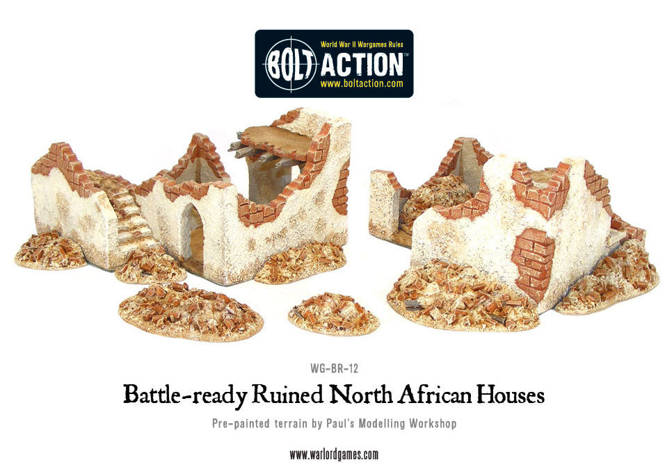 Ruined Buildings - Warlord Games
