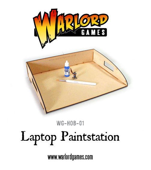 Laptop Paint Station