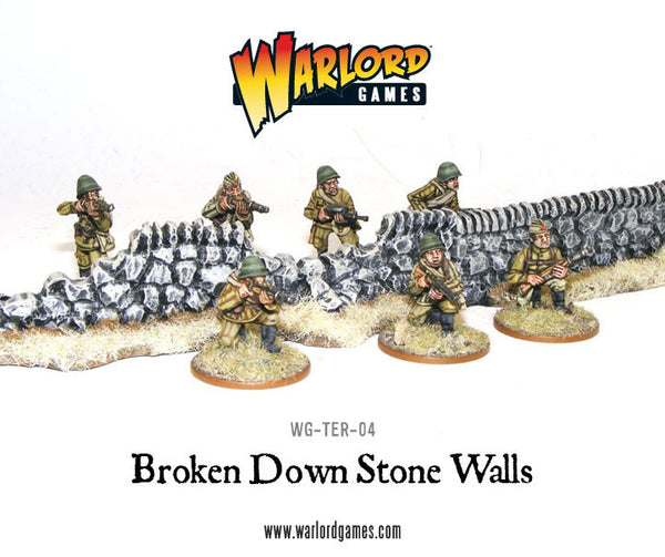 Rorke's Drift Damaged Stone Walls