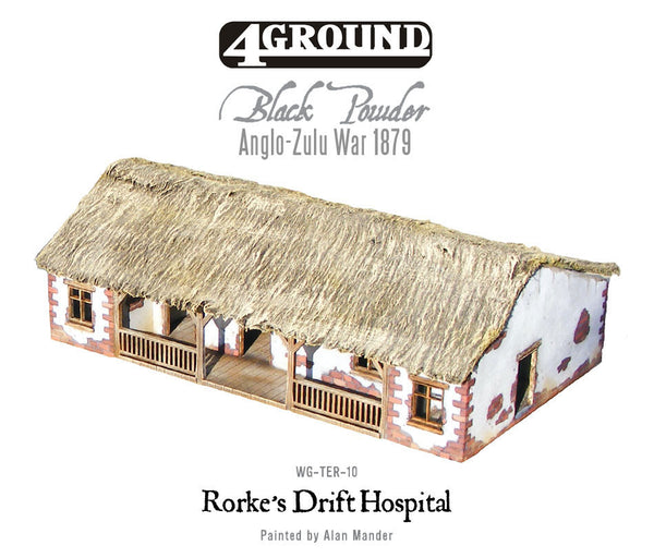Rorke's Drift laser-cut hospital