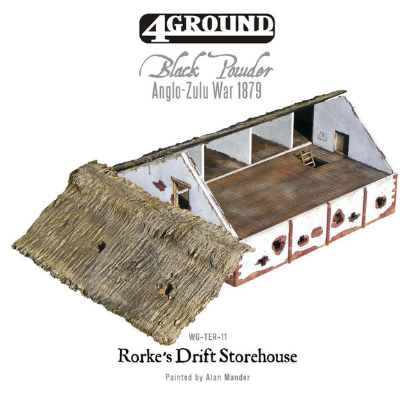 Rorke's Drift laser-cut Storehouse/Barn