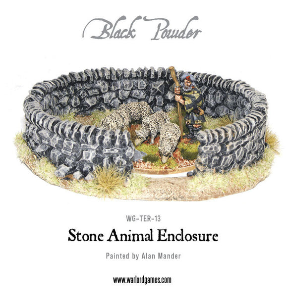Stone Animal Enclosure